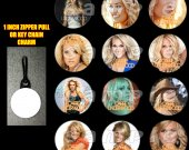 Carrie Underwood Set of 12 Zipper Pulls Make Great Party Favors