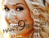 Carrie Underwood Personalized 4x6 Birthday Party Invitations - Style 2