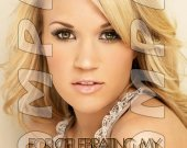 Carrie Underwood Personalized Thank You Cards - Style 4
