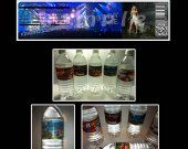 Carrie Underwood Set of 15 Water Bottle Labels - Make Great Party Favors - Style 1