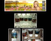 Carrie Underwood Set of 15 Water Bottle Labels - Make Great Party Favors - Style 4
