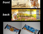 Carrie Underwood Set of 12 Candy Bar Wrappers - Make Great Party Favors - Style 2