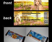 Carrie Underwood Set of 12 Candy Bar Wrappers - Make Great Party Favors - Style 4