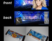 Carrie Underwood Set of 12 Candy Bar Wrappers - Make Great Party Favors - Style 5