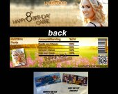 Carrie Underwood Set of 12 Goodie Bag Toppers - Style 2