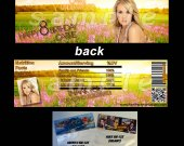Carrie Underwood Set of 12 Goodie Bag Toppers - Style 4