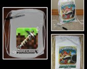 Minecraft Pickaxe Mini Drawstring Sport Pack - Great Party Favors
