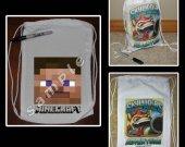 Minecraft Steve Mini Drawstring Sport Pack - Style 2