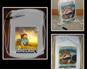 Minecraft Steve Mini Drawstring Sport Pack - Style 3