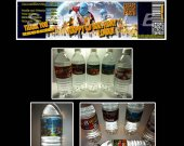 Escape from Planet Earth Set of 15 Water Bottle Labels