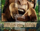 Jack the Giant Slayer Ticket Style Personalized Party Invitations