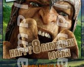 Jack the Giant Slayer Personalized 4x6 Birthday Party Invitations