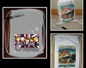 One Direction Mini Drawstring Sport Pack - Make Great Party Favors - Style 6