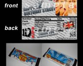 One Direction Set of 12 Personalized Candy Bar Wrappers Party Favors-Style 11