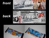 One Direction Set of 12 Personalized Candy Bar Wrappers Party Favors-Style 15