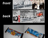 One Direction Set of 12 Personalized Candy Bar Wrappers Party Favors-Style 16