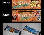 One Direction Set of 12 Personalized Candy Bar Wrappers Party Favors-Style 17