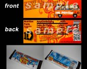 One Direction Set of 12 Personalized Candy Bar Wrappers Party Favors-Style 19