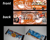 One Direction Set of 12 Personalized Candy Bar Wrappers Party Favors-Style 20