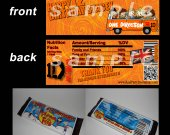 One Direction Set of 12 Personalized Candy Bar Wrappers Party Favors-Style 21