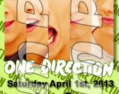 One Direction Ticket Style Personalized Party Invitations - Style 8