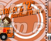 One Direction Ticket Style Personalized Party Invitations - Style 20