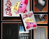 Kirby iPad Case - Fits iPad 2, 3 and 4 - Great Gift Idea