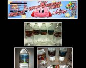 Kirby Set of 15 Water Bottle Labels - Make Great Party Favors
