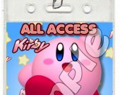 Kirby Set of 12 VIP Party Invitation Passes or Party Favors - Style 3
