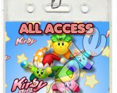 Kirby Set of 12 VIP Party Invitation Passes or Party Favors - Style 5