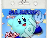 Kirby Set of 12 VIP Party Invitation Passes or Party Favors - Style 6