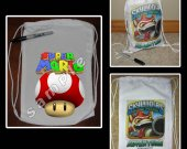 Super Mario Brothers Mini Drawstring Sport Pack - Great Party Favor Bags - Style 5