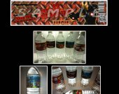 Iron Man 3 Set of 15 Water Bottle Labels - Make Great Party Favors