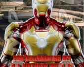 Iron Man 3 Personalized Thank You Cards