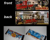 Iron Man 3 Set of 12 Personalized Candy Bar Wrappers Party Favors - Style 1