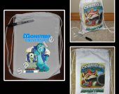 Monsters University Mini Drawstring Sport Pack - Great Party Favor Bags - Style 2