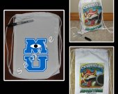 Monsters University Mini Drawstring Sport Pack - Great Party Favor Bags - Style 3