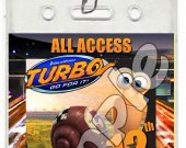 Turbo Set of 12 VIP Party Invitation Passes or Party Favors - Style 2