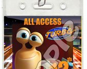 Turbo Set of 12 VIP Party Invitation Passes or Party Favors - Style 3