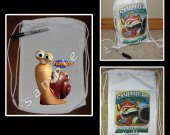 Turbo Mini Drawstring Sport Pack - Great Party Favor Bags - Style 2