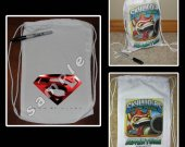 Man of Steel Mini Drawstring Sport Pack - Great Party Favor Bags - Style 2