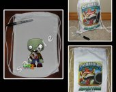 Plants vs. Zombies 2 Mini Drawstring Sport Pack - Great Party Favor Bags - Style 4