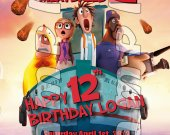 Cloudy with a Chance of Meatballs 2 Personalized 4x6 Birthday Party Invitations