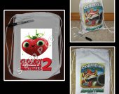 Cloudy with a Chance of Meatballs 2 Mini Drawstring Sport Pack - Great Party Favor Bags - Style 8