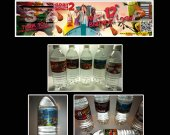 Cloudy with a Chance of Meatballs 2 Set of 15 Water Bottle Labels - Make Great Party Favors-Set 1