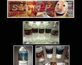 Cloudy with a Chance of Meatballs 2 Set of 15 Water Bottle Labels - Make Great Party Favors-Set 2