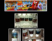 Free Birds Set of 15 Water Bottle Labels - Make Great Party Favors