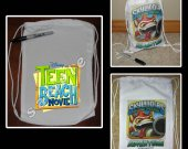 Teen Beach Movie Mini Drawstring Sport Pack - Great Party Favor Bags - Style 5