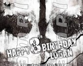 Call of Duty Ghosts Personalized 4x6 Birthday Party Invitations - Style 5