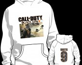 Call of Duty Black Ops 2 Personalized Hooded (Hoodie) Sweatshirt - Style 1